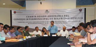 Cuarta Sesión Ordinaria del Consejo Intermunicipal de la Región VI Selva
